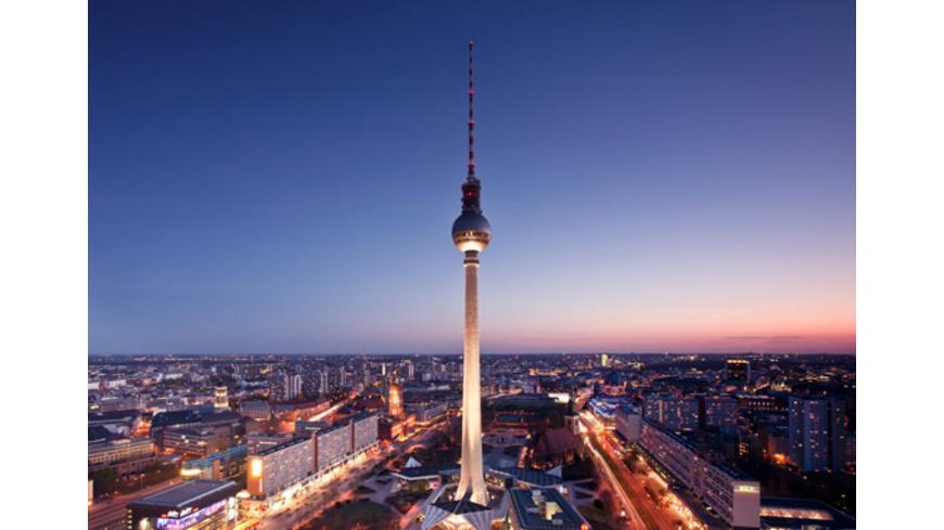 Parken Fernsehturm Berlin