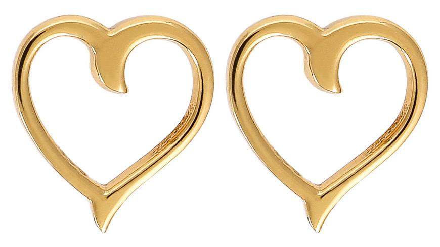 Ohrstecker - Golden Heart