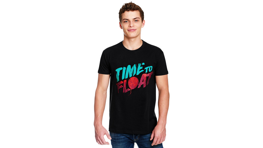 Stephen Kings ES - Time to Float T-Shirt schwarz