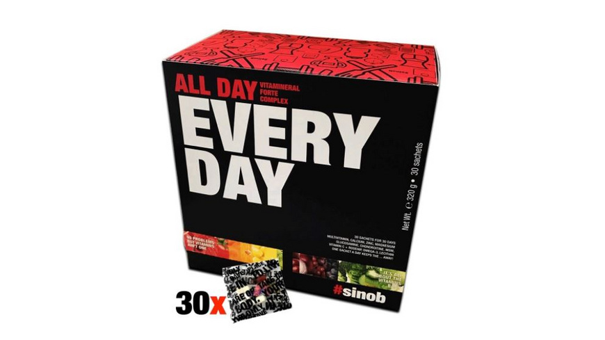 BlackLine 2.0 Vitamin Pack All Day Every Day 320g
