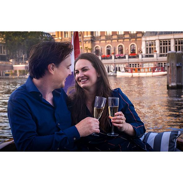 Bootstour in Amsterdam für 2 (eine Stunde)