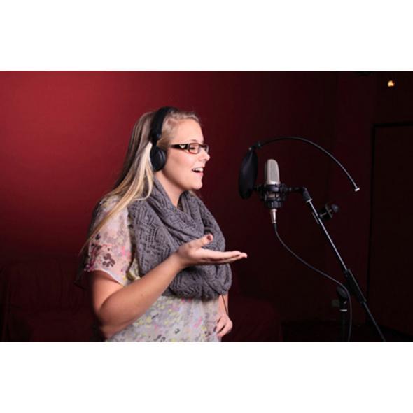 Gesangsaufnahme mit Coaching