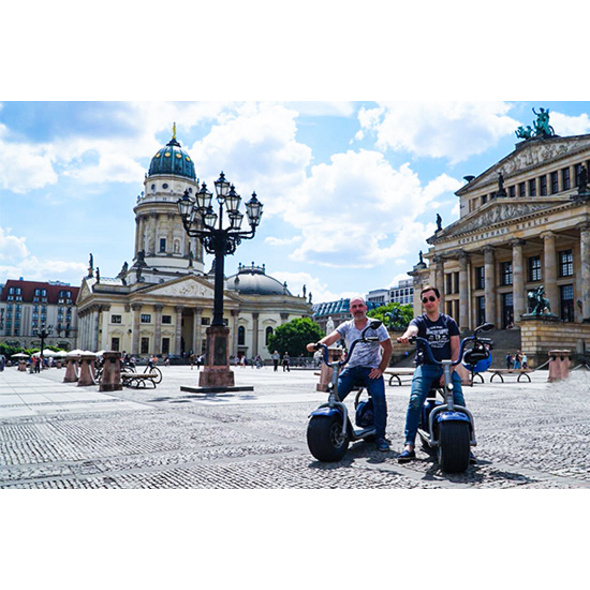 Sightseeing-Tour mit dem Elektroroller in Berlin