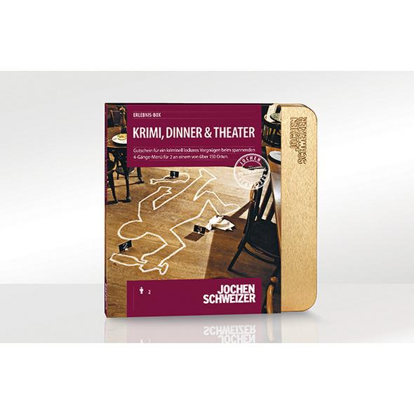 Erlebnis-Box 'Krimi, Dinner & Theater' für 2