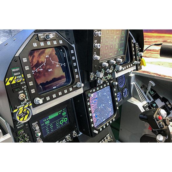 Kampfjet Simulator F18 Super Hornet in Berlin
