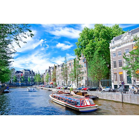 Kurzreise Amsterdam mit Rijksmuseum und Bootsrundfahrt für 2 (3 Tage)