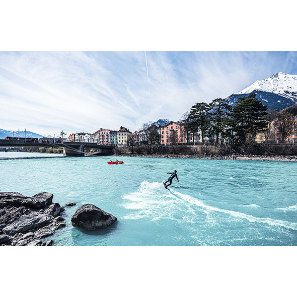 River Surfing in Innsbruck