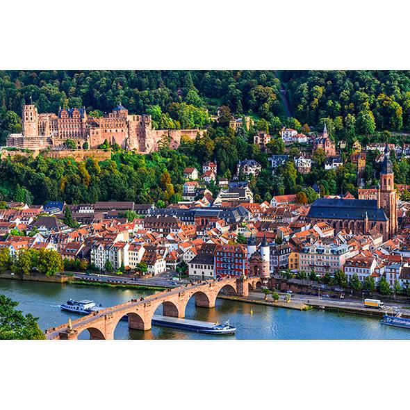 Städtereise Heidelberg mit Schlossführung für 2 (2 Tage)