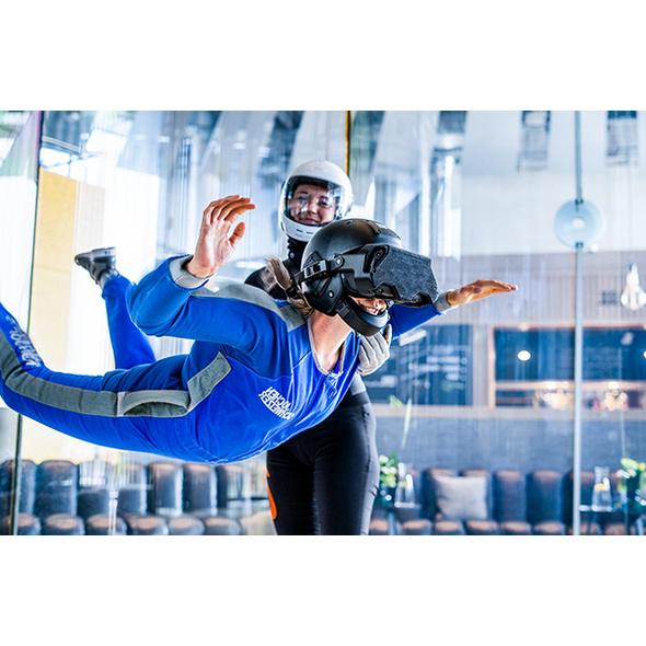 VR Bodyflying Base Jump für Kinder in Taufkirchen