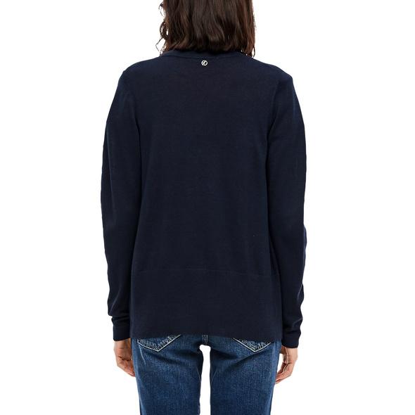Open Front-Cardigan in Unicolor - Jacke