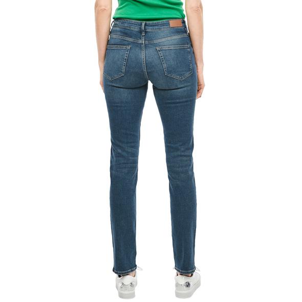 Slim Fit: Slim leg-Denim - Denim