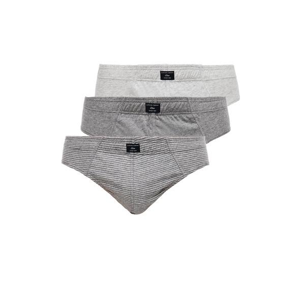 3er-Pack Slips aus Jersey - Jersey-Slips