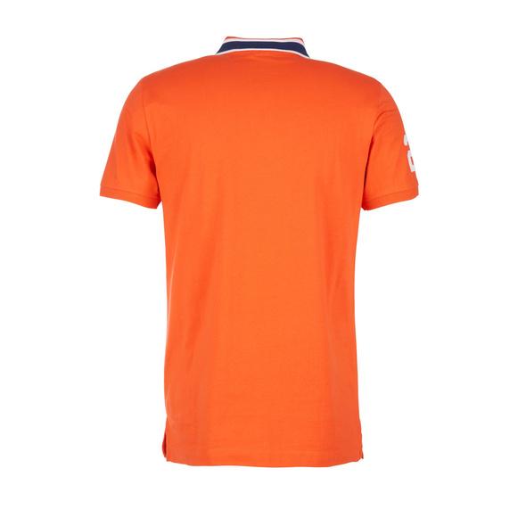 Poloshirt mit Kontrast-Kragen - Poloshirt