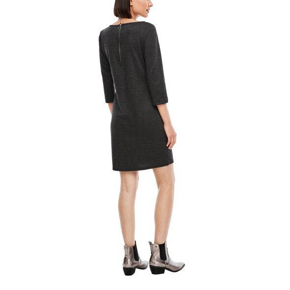 Check-Dress mit 3/4-Ärmeln - Kleid