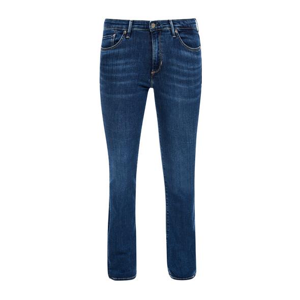 Slim: Bootcut leg-Jeans - Denim