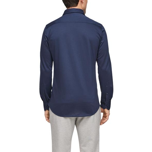 Slim Fit: Hemd aus Jersey - Hemd