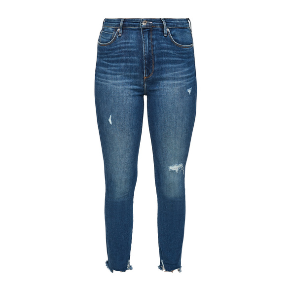 Skinny Fit: Jeans im Used Look - Jeans