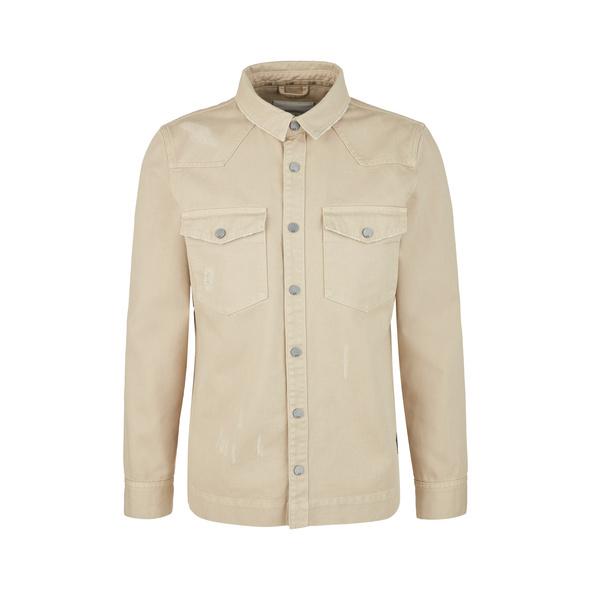 Overshirt aus Twill - Hemd
