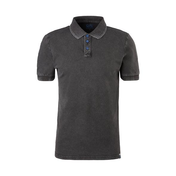 Poloshirt mit Wascheffekt - Piqué-Poloshirt