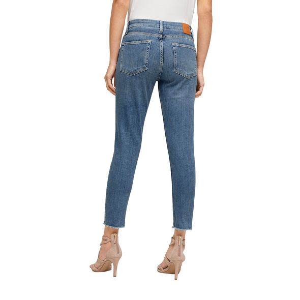 Regular Fit: Jeans mit Strass - Jeans