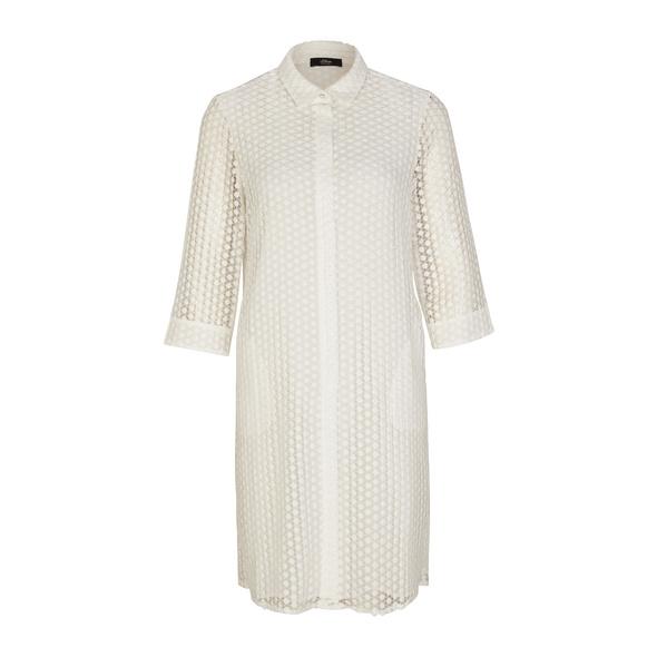 Kleid aus strukturierter Spitze - Kleid