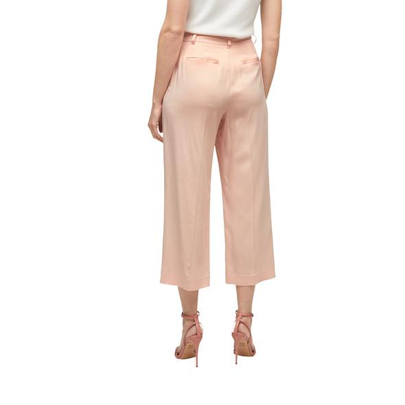 Regular Fit: Bügelfalten-Culotte - Wide-Leg-Culotte