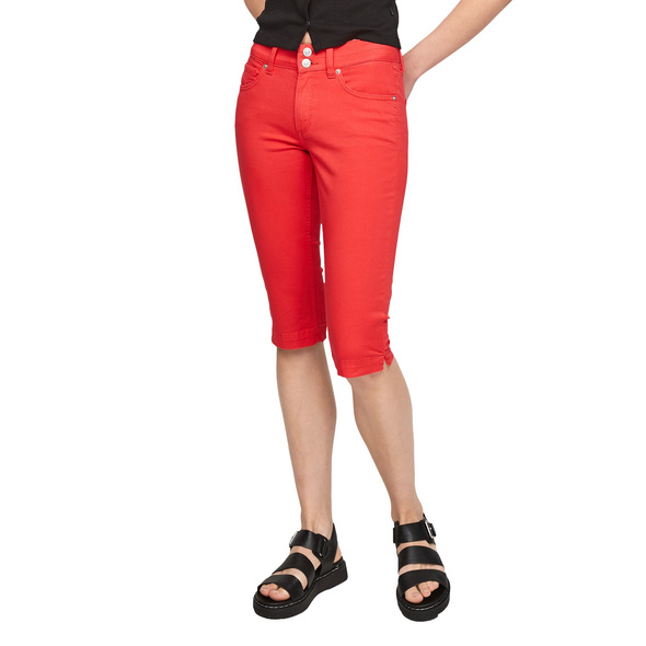 Slim Fit: Coloured Capri-Jeans - Capri-Hose