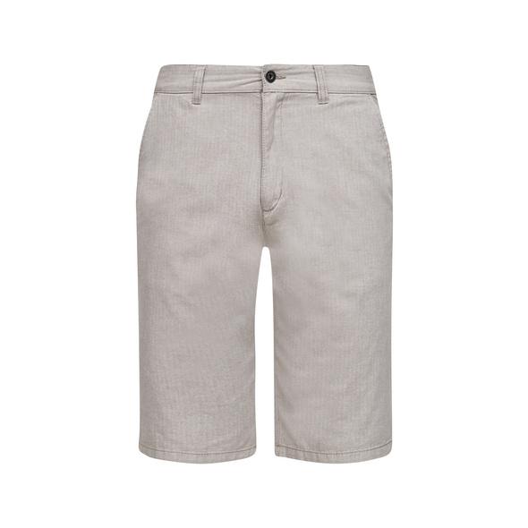 Regular Fit: Baumwoll-Bermuda - Hose