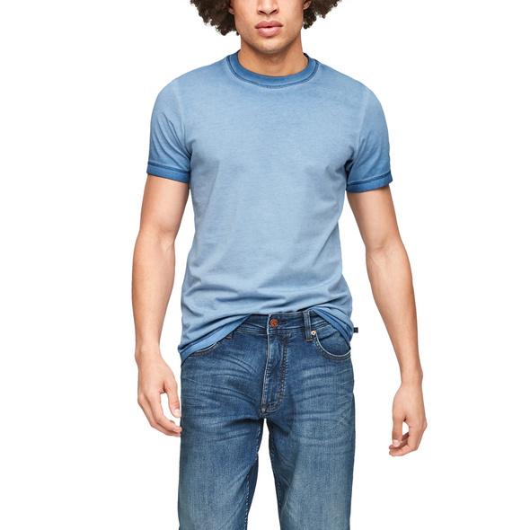 T-Shirt mit Wascheffekt - Jersey-T-Shirt