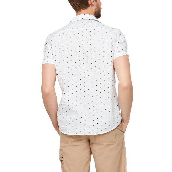 Regular Fit: Hemd aus Popeline - Kurzarmhemd