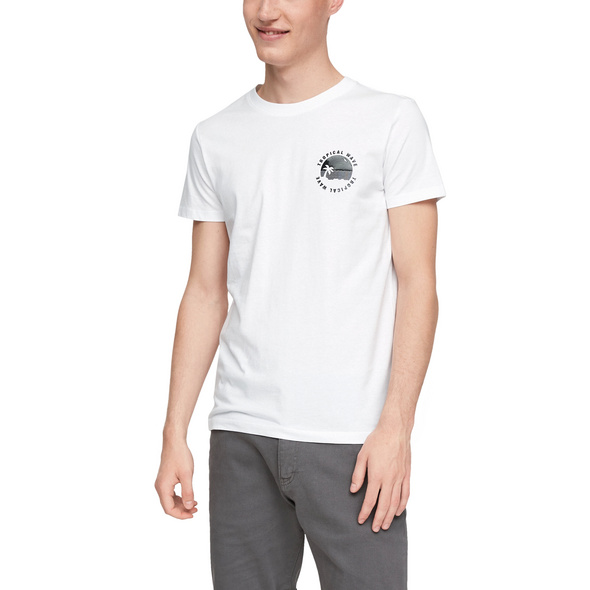 T-Shirt mit Print-Detail - T-Shirt