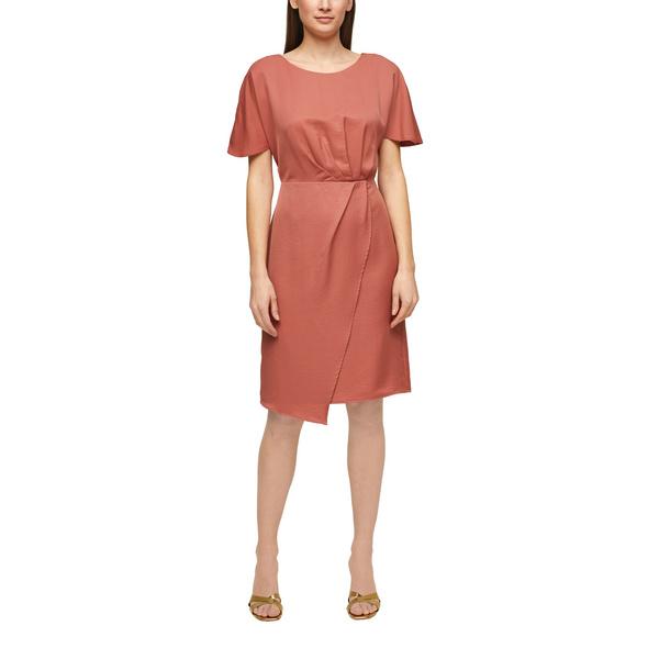Tailliertes Kleid mit Raffung - Kleid