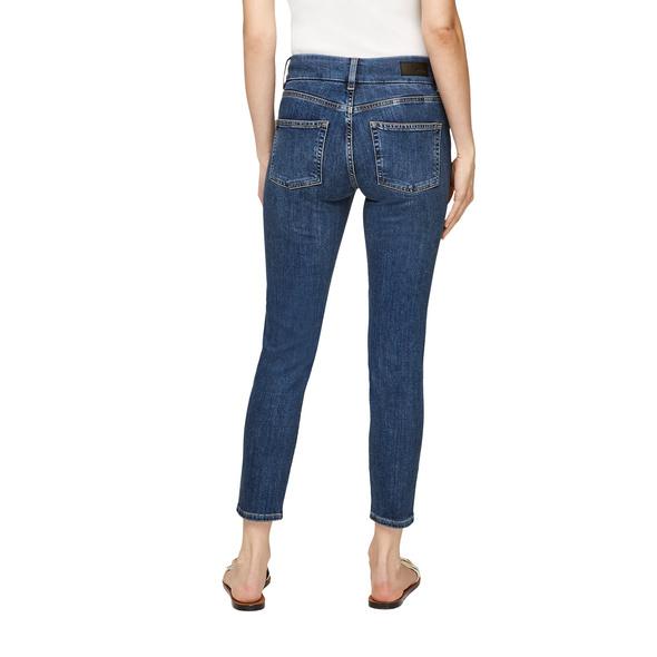 Slim Fit: Verkürzte Slim leg-Jeans - Denim-Jeans