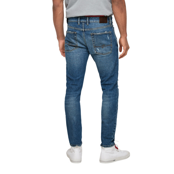 Regular Fit: Jeans im Used-Look - Jeans
