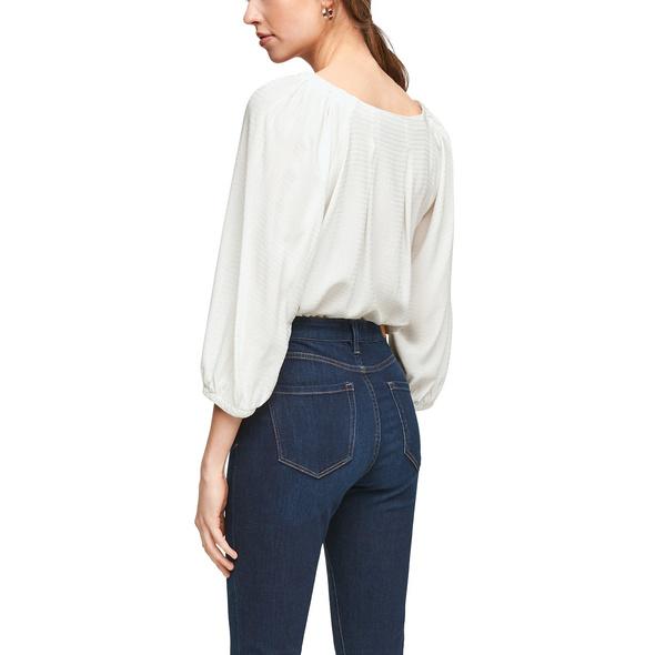 Bluse mit Strukturmuster - Bluse