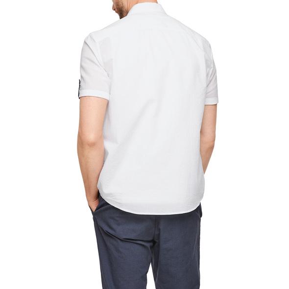 Regular: Leichtes Baumwollhemd - Kurzarmhemd