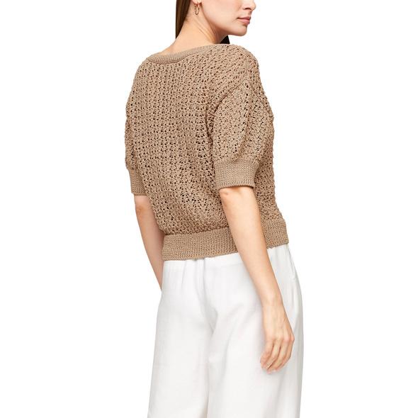 Pullover mit Ajourmuster - Pullover