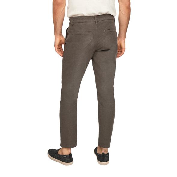 Slim Fit: Hose mit Tunnelzugbund - Doubleface-Hose