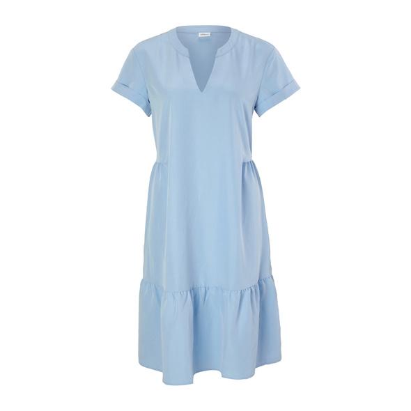 Stufenkleid aus Modalmix - Tunikakleid