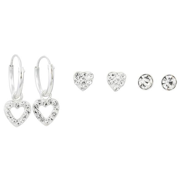 Ohr-Set - Romantic Hearts