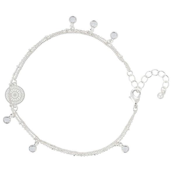 Fußkette - Silver Ornament