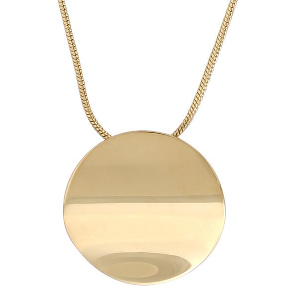 Kette mit Anhänger - Gold Coin