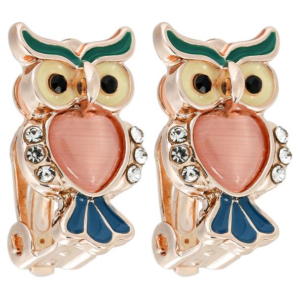 Kinder Ohrclips - Suspicious Owl