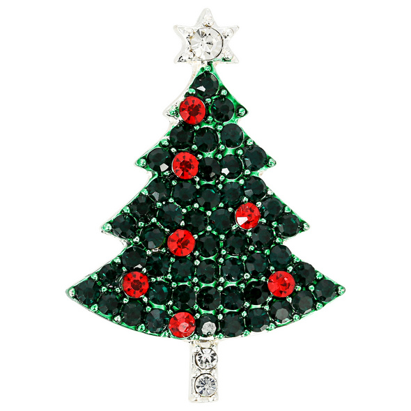 Brosche - Christmas Tree