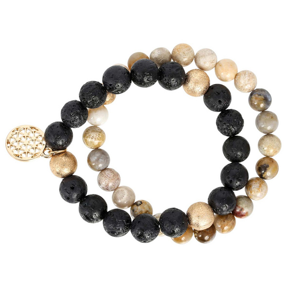 Armband Set - Flower of Life
