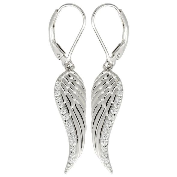 Ohrhänger - Cute Silver Wings
