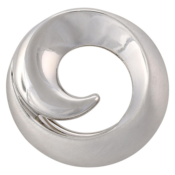 Schalclip - Silberwelle