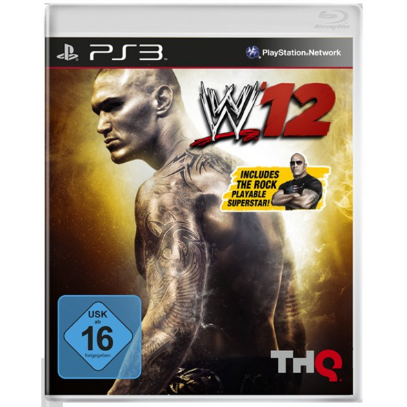 THQ PS3 WWE 12
