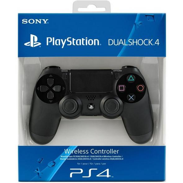 Sony PS4 Dualshock 4 Controller schwarz