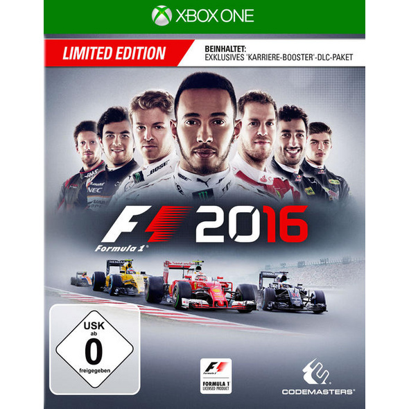 Codemasters F1 2016 Limited Edition